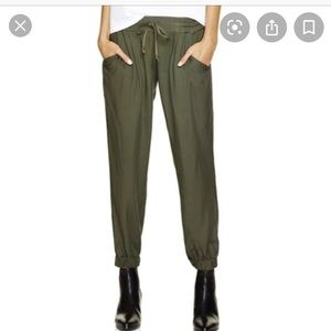 Olive Green Joggers